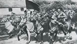 Красная конница входит в село